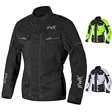 Adventure/Touring Motorcycle Jacket For Men Textile...