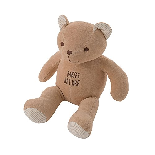 - 100% Organic Cotton Nature Bear Baby Toy (Brown)