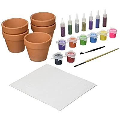 Small World Toys Creative - Glitter Pots 'N' Paints Craft Kit: Toys & Games
