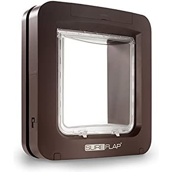 Amazon Com Sureflap Microchip Pet Door Brown Pet