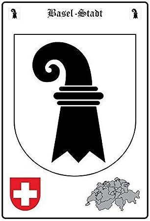 Lucerne Luzern Schweiz Blechschild Schild gewölbt Tin Sign 20 x 30 cm FA1842