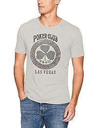 Lucky Brand Men's Poker Club Graphic Tee