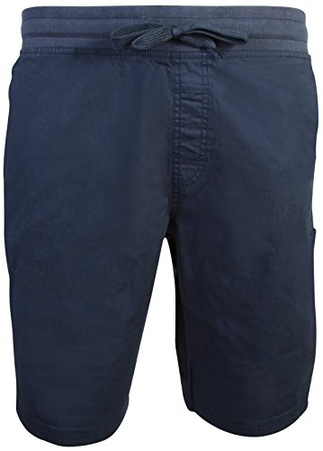 - Beverly Hills Polo Club Men\'s Pull On Twill Stretch Short, Navy, Size 32'