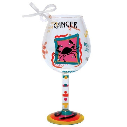 Santa Barbara Design Studio Lolita Holiday Mini-Wine Ornament, Cancer -
