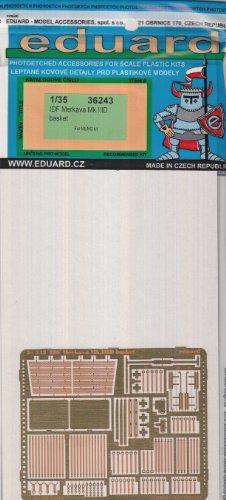 EDU 1:35  Photo Etch Basket Set for the 1:35 Meng IDF Merkava Mk.IIID model kit - Eduard 36243