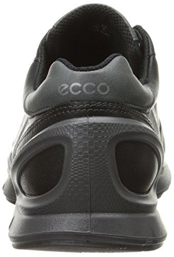 ECCO Biom Evo Trainer Men, Scarpe Sportive Outdoor Uomo Nero (Schwarz (Black/Red Alert))