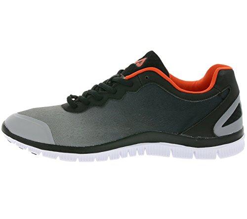 Fila - Zapatillas de tela para hombre gris gris gris