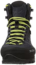 Salewa Men\'s Rapace Gtx Mountaineering Boot, Night Black/Kamille, 13 M US