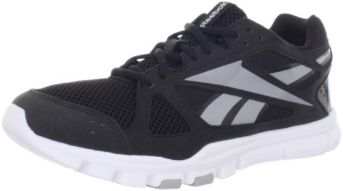 Reebok Men's YourFlex Train 2.0 Cross-Training Shoe,Black/Tin Grey/White,10.5 M US Review