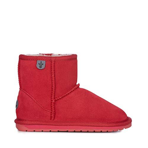EMU Australia Kids Wallaby Mini Winter Real Sheepskin Boots Size 11 Fuschia