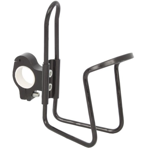 Universal Bar Can Cup Bottle Rack Holder with Adapter Motorcycle Bike ATV Black