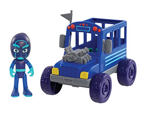 PJ Masks Vehicle & Figure - Night Ninja Bus, Blue - http://coolthings.us