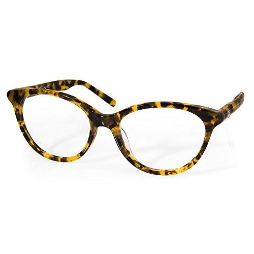 AQS Women's Jane Optical Eyeglasses (Cheetah, - Glasses Frames Cheetah