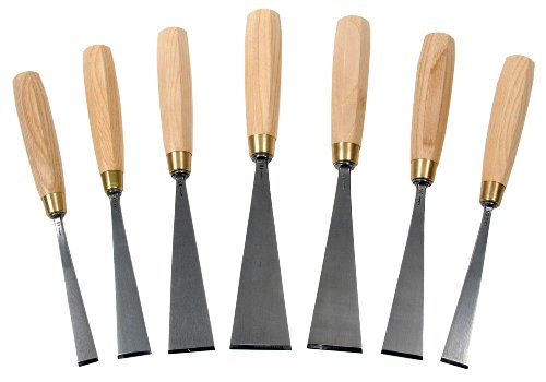 Chris Pye - Auriou Lettering Chisels - Set of 7 by Auriou