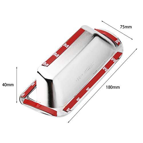 HoganeyVan Luxurious Car Chrome Door Handle Cover For Honda For CR-V 2007-2011 Door Handle Insert Cover Automobile Accessories