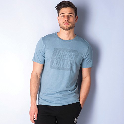 Jack & Jones Herren T-Shirt blau blau Medium