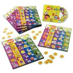 Nickelodeon DVD Bingo Game by Nickelodeon