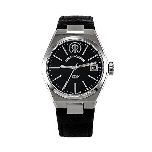 REVUE-THOMMEN-Womens-1080104-Urban-Lifestyle-Analog-Display-Swiss-Automatic-Black-Watch