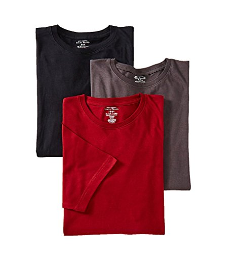 Lucky Black Label Crew Neck T-Shirts - 3 Pack (LU1300) S/Black/Tomato/Magnet