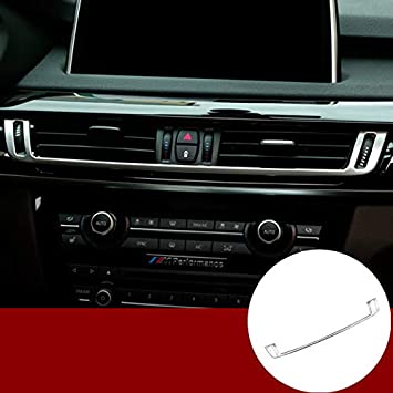 Middle console Air Condition Vent Outlet Cover Trim For BMW X5 F15 2014-2017