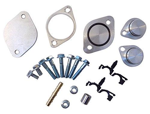 Simple EGR Kit For Ford 6.4l Powerstroke Turbo Diesel 2008-2010 (Best Egr Delete Kit For 6.4 Powerstroke)