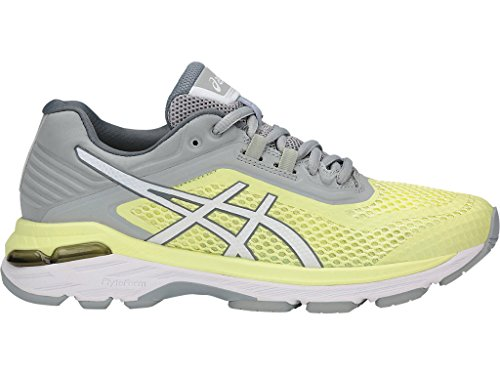 ASICS Women's GT-2000 6 Running Shoe, Limelight/White/Mid Grey, 5 M US by ASICS (Image #2)
