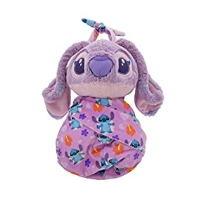 Disney Parks Baby Angel in a Pouch Blanket Plush Doll Stitch