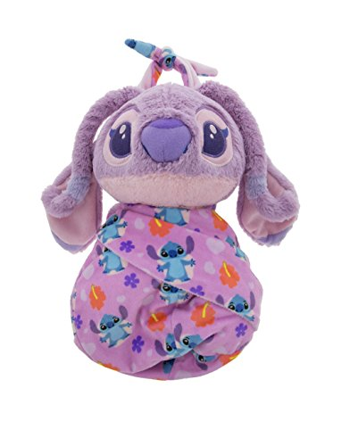 Angel Baby Toy - Disney Parks Baby Angel in a Pouch Blanket Plush Doll Stitch