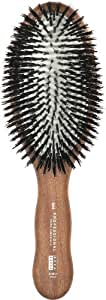 Acca Kappa Professional Pro Pneumatic Hair Brush, Oval, All Boar Bristle