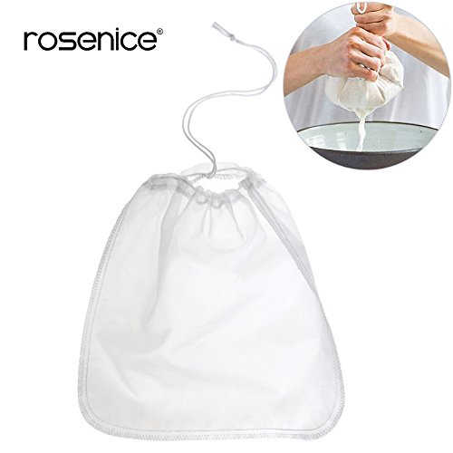 Best Quality - Coffee Filters - Reusable Coffee Filter Nylon Mesh Food Strainer Tea Infuser Tea Strainer Nut Milk Bag Food Grade Fine Cheese Maker Tea Filter - by LINAE - 1 PCs