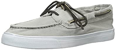 Sperry Top-Sider Women's Bahama 2-Eye Fashion Sneaker, Grey, 5 M US