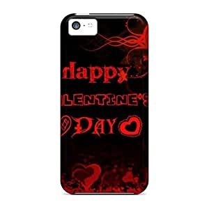 Iphone 5c Happy Valentine Day Tpu Silicone Gel Case Cover. Fits Iphone 5c