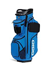 The ultimate fully loaded cart bag with hand selected materials, intuitive organization, and exceptional durability. Made from premium 600D cordura ecomade polyester. This fabric has exceptional abrasion resistance, anti-tear strength, and is...