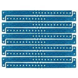 Plastic Sparkle Wristbands (lt blue) (100/Box) ()