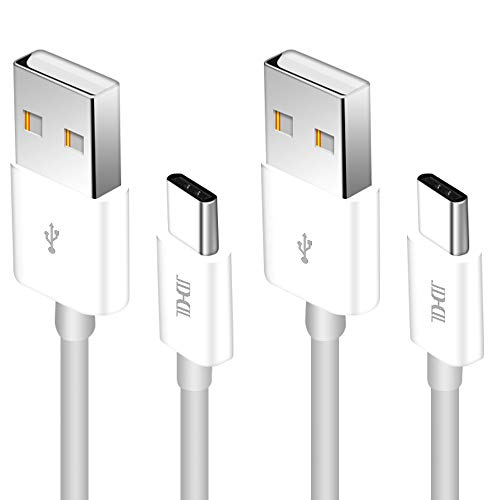 star Type C to Type A 2Pack 10ft [USB-C to USB-A] Durable Data Charging Cable for OnePlus 3, Google Pixel XL, Nexus 6P 5X, LG G5, HTC 10, new MacBook and More White ()