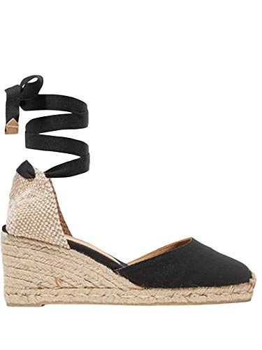 Womens Espadrille Wedge Sandals Closed Toe Platform Lace Up Ankle Wrap Slingback Sandals Ankle Wrap Espadrille Womens Wedge