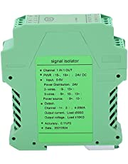 Signal Isolator - Signal Isolator DC 1 in 1 Out Current Voltage Transmitter Rail Mount 0‑5V to 4‑20mA GLG