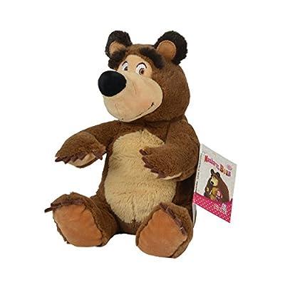 Simba 109301034Mascha und Bean Bag Bear, 20cm: Toys & Games