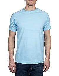 Crawley Men's Cotton Raglan Short Sleeve Slub Jersey Crew Neck Tee Shirt Crew Neck (See More Colors and Sizes)