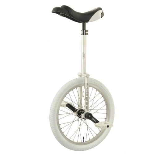 Nimbus Eclipse 20'' Freestyle Unicycle 300mm - Silver by Nimbus
