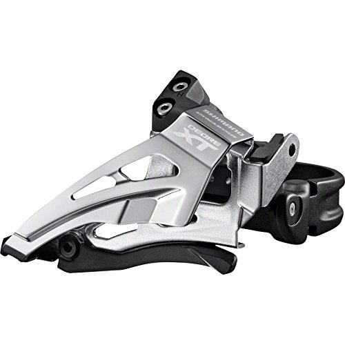 Shimano XT FD-M8025-L 2×11 Front Derailleur Low Clamp, Top swing, Down Pull