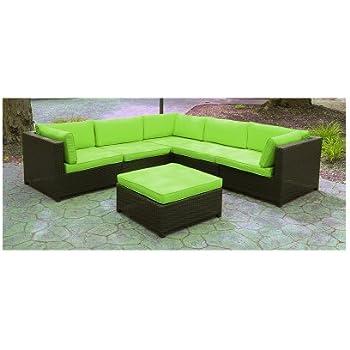 Amazon Com Black Resin Wicker Outdoor Furniture