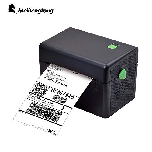 Meihengtong Label Printer, 150mm/s High Speed Thermal Printer - Compatible with UPS, FedEx, Amazon, Ebay, Etsy, Shopify - Barcode Printer, 4x6 Printer from Meihengtong