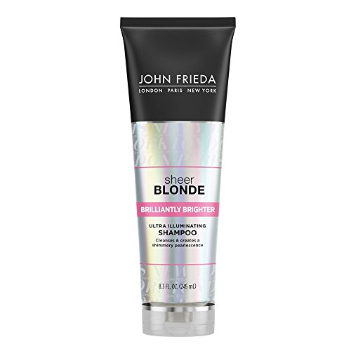 John Frieda Sheer Blonde Brilliantly Brighter Ultra Illuminating Shampoo, 8.3 Ounces ()