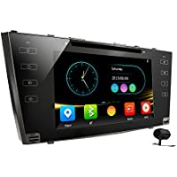 Car stereo Toyota Camry 2006-2011 2 Din In Dash Head Unit Car GPS Navigation MAP AM FM Radio DVD CD Player Bluetooth USB SD 3G DVR CAM-IN