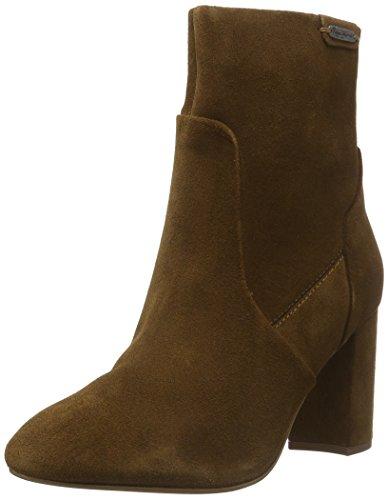 Pepe Jeans Dylan Zip, Zapatillas de Estar por Casa para Mujer Braun (NUT BROWN877)