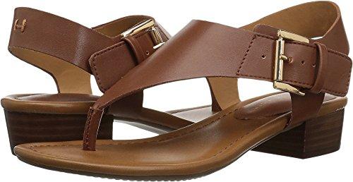Tommy Hilfiger Women's Kitty Heeled Sandal tan 8.5 Medium US