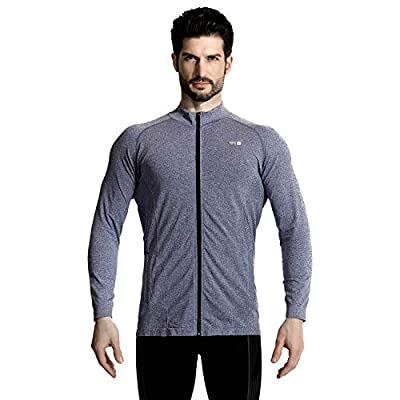 +MD Men's Track Jacket Lightweight Full-Zip Active Performence Jacket for Running Training Fitness: Clothing