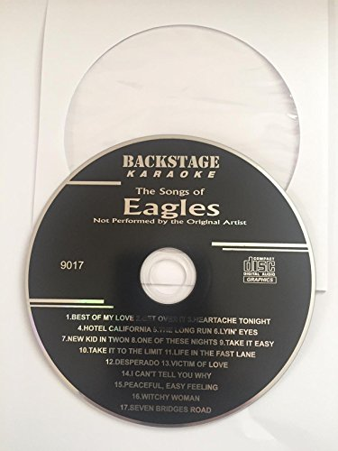 Greatest Hits of THE EAGLES Backstage Karaoke CDG