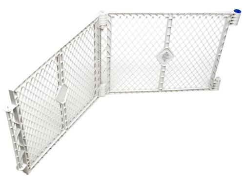 North States Industries Superyard XT Gate Extension – Grey